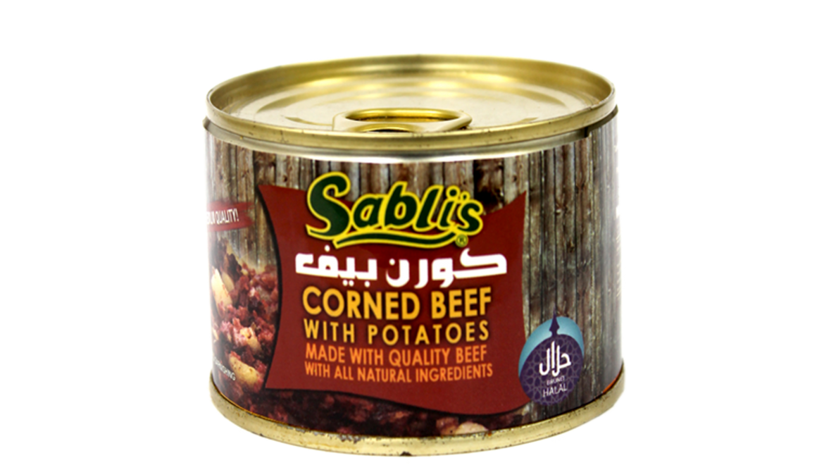 Corned Beef With Potatoes 170gm