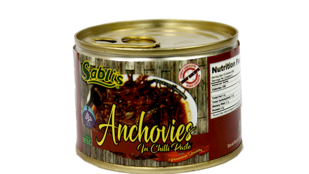 Anchovies 170gm